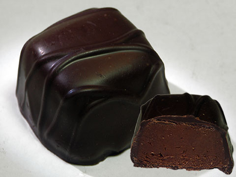 Photo of See's® Dark Chocolate Chip Truffle